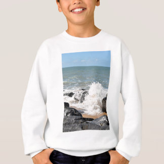 WAVES ON BEACH QUEENSLAND AUSTRALIA SWEATSHIRT