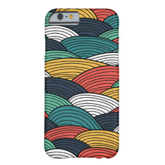 Waves pattern barely there iPhone 6 case