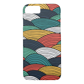 Waves pattern iPhone 7 case