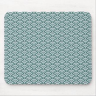 Waves pattern mousepads