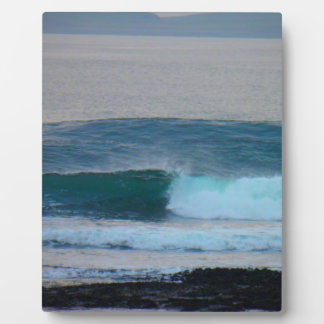 Waves Photo Ireland Photo Plaque