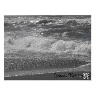 Waves & Shore Postcard