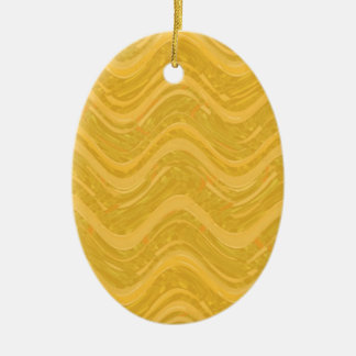WAVES : SPIRITUAL Gold ENERGY: Lowprice Store Ceramic Oval Decoration