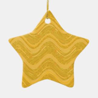 WAVES : SPIRITUAL Gold ENERGY: Lowprice Store Ceramic Star Decoration