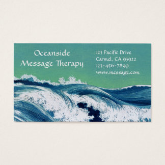 Waves Standard Business & Appointment Card