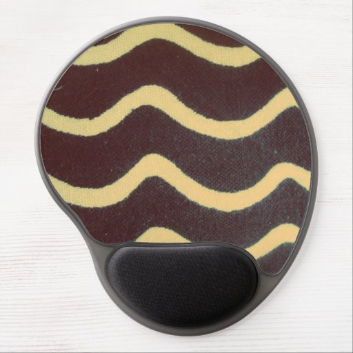 waves the black person and white gel mousepads