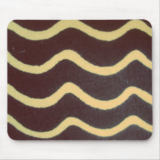 waves the black person and white mouse pads