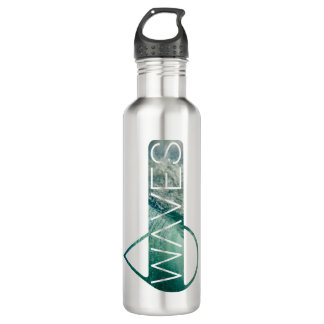 Waves water bottle