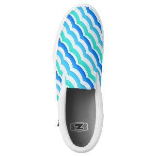 Waves Zipz Slip On Shoe Printed Shoes