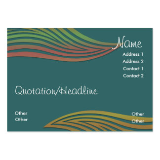 Waveys Business Profile Card Pack Of Chubby Business Cards