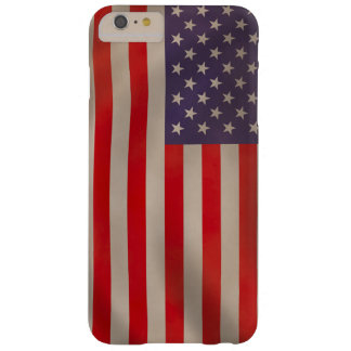 Waving American Flag Barely There iPhone 6 Plus Case