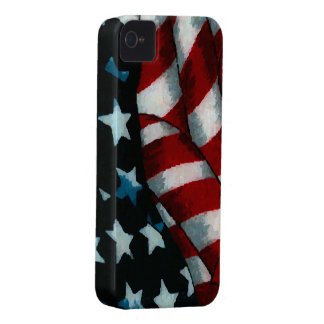 Waving American Flag Case-Mate iPhone 4 Case