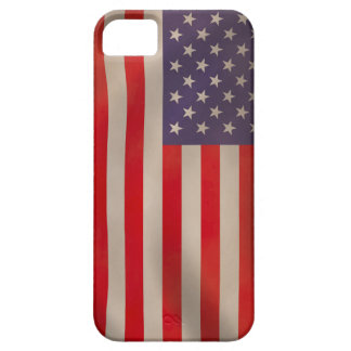 Waving American Flag iPhone 5 Case