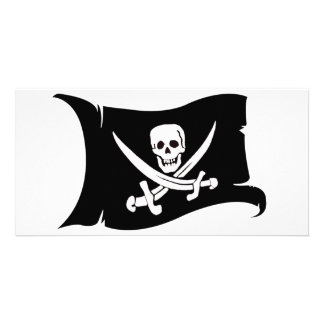 Waving Flag #10 Jack Rackham Photo Greeting Card