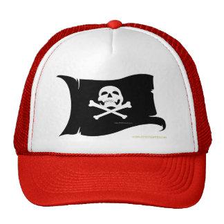 Waving Flag Mesh Hats