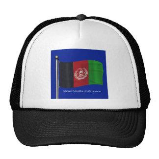 Waving Flag of Afghanistan Cap