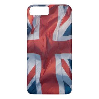 Waving Flag of Britain iPhone 7 Plus Case