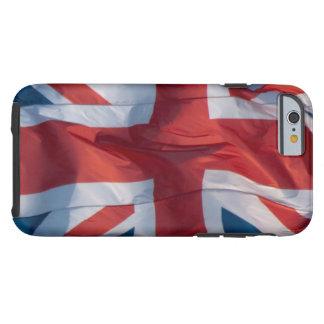 Waving Flag of Britain Tough iPhone 6 Case