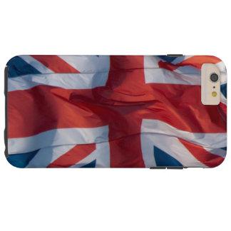 Waving Flag of Britain Tough iPhone 6 Plus Case