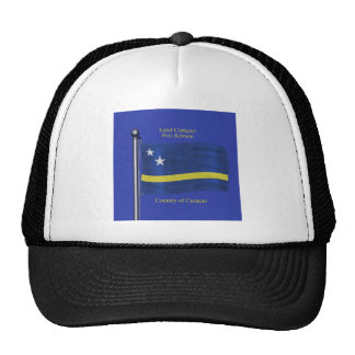Waving Flag of Curacao Hat
