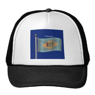 Waving Flag of Delaware Hat