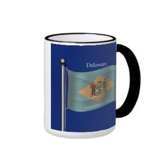 Waving Flag of Delaware Mug