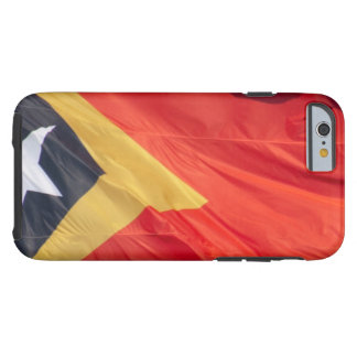 Waving Flag of East Timor Tough iPhone 6 Case