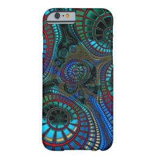 Waving Fractal Barely There iPhone 6 Case