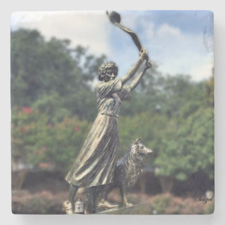 Waving Girl, Savannah Coasters, Stone Coaster