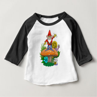 Waving Gnome. T-shirt