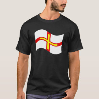 Waving Guernsey Flag T-Shirt