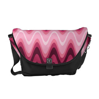 Waving In Pink Courier Bag