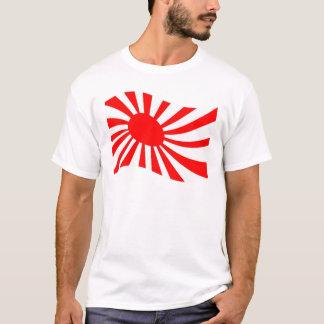 Waving Japanese Rising Sun Flag T-Shirt