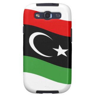 Waving Libya Flag Samsung Galaxy SIII Case