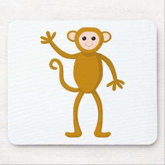 Waving Monkey Mousepad