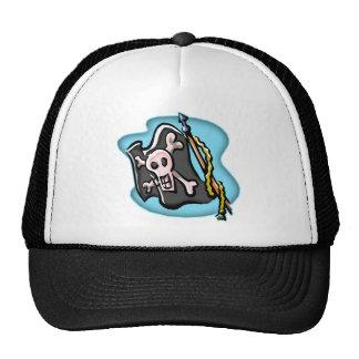Waving Pirate Flag Cap
