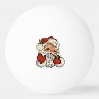 Waving Santa Ping Pong Ball