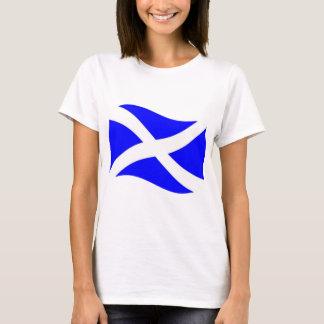 Waving Scotland Flag T-Shirt