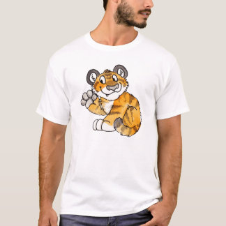 Waving Tiger Cub T-Shirt