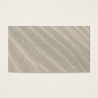 Wavy Beach Sand Business Card