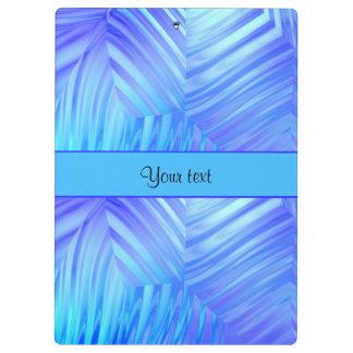 Wavy Blue Glass Clipboard