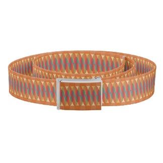 Wavy color stripe belt