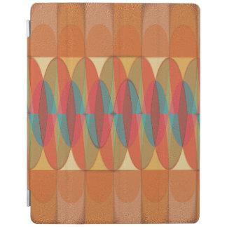 Wavy color stripe iPad cover