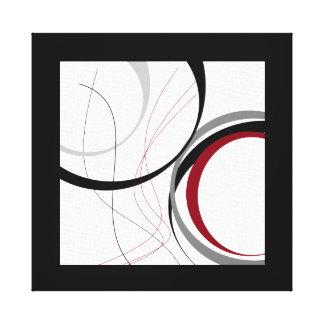 Wavy Design Canvas Print