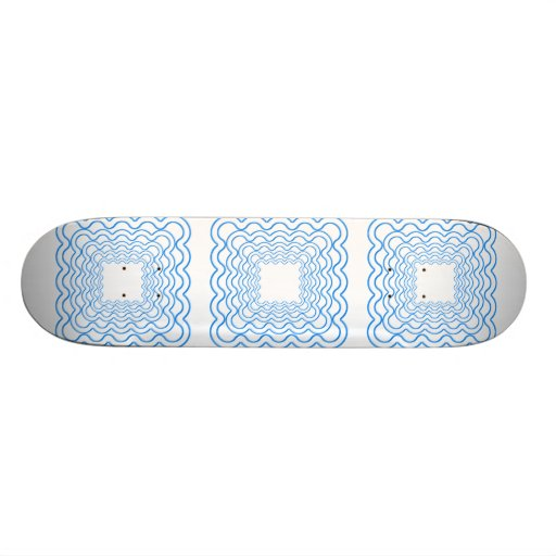 Wavy Frames Skate Board Deck