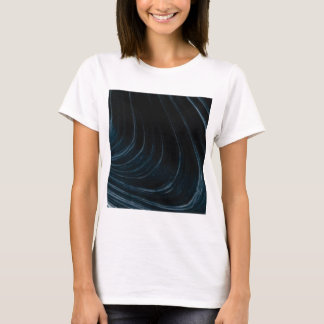 Wavy line of flow T-Shirt