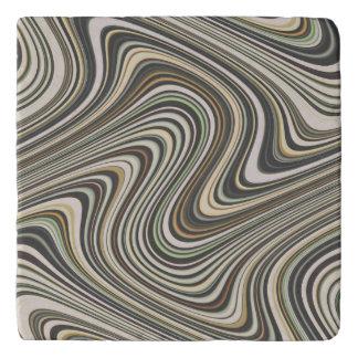 Wavy Line Pattern Trivet