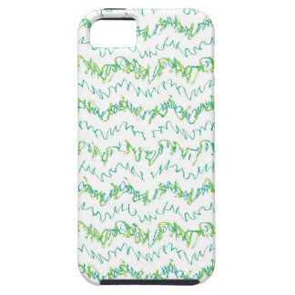 Wavy Linear Stripes Pattern Design iPhone 5 Cover