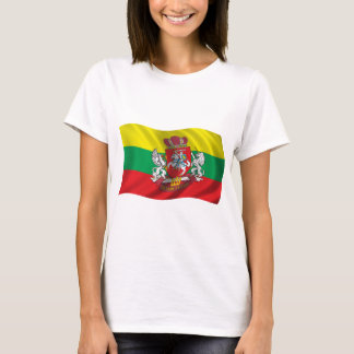 Wavy Lithuania Flag T-Shirt