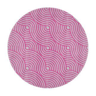 Wavy Pink Cutting Board